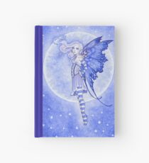 Moon and Stars Hardcover Journal