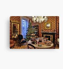 Victorian Christmas Canvas Print