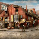 City - PA - Fish & Provisions 1898 by Mike  Savad