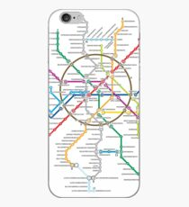 moscow subway iPhone Case