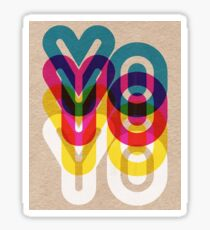 Yo Yo Yo Sticker
