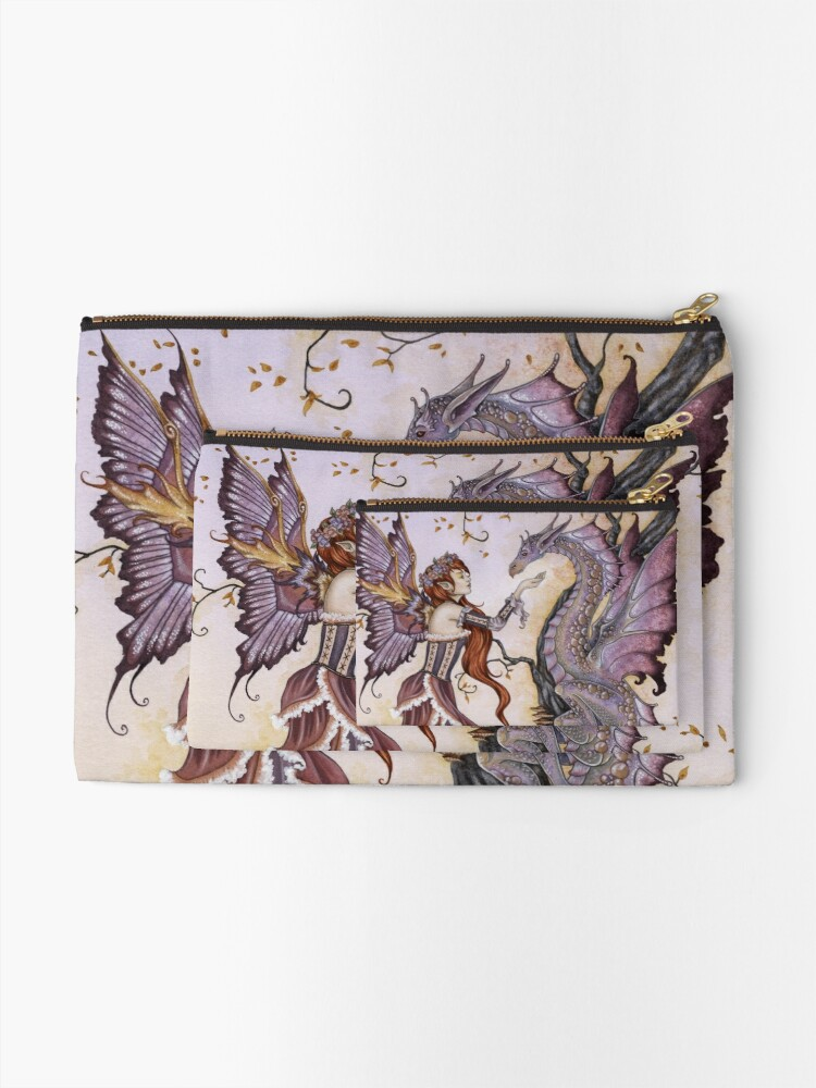 Alternate view of The Dragon Charmer Zipper Pouch