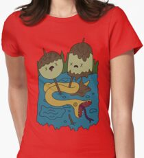 Adventure Time - Rock T-shirt Womens Fitted T-Shirt
