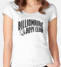 Billionaire Boys Women's Fitted Scoop T-Shirt