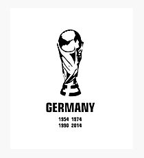 Germany World Cup wins Photographic Print