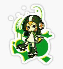 Jet-Set-Chibi Sticker