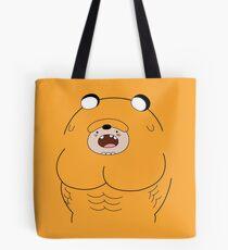 Jake Suit - Adventure Time Tote Bag