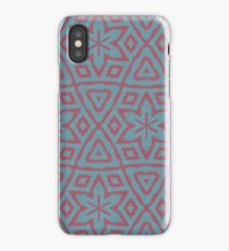 Modern abstract modern pattern iPhone Case/Skin