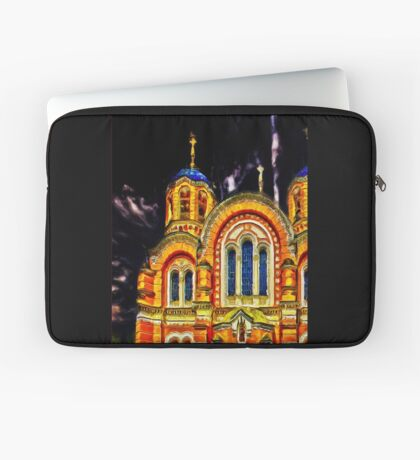 St Volodymyr's Cathedral  Laptop Sleeve
