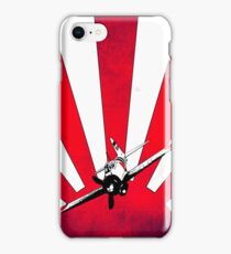 Stylised Mitsubishi A6M Zero iPhone Case/Skin