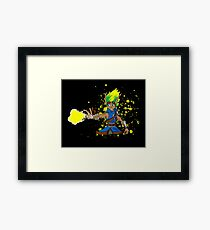 Yellow Eco Framed Print