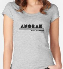 Ready Player One - Anorak Women's Fitted Scoop T-Shirt