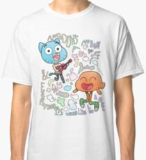 Nobody's A Nobody Gumball and Darwin Classic T-Shirt