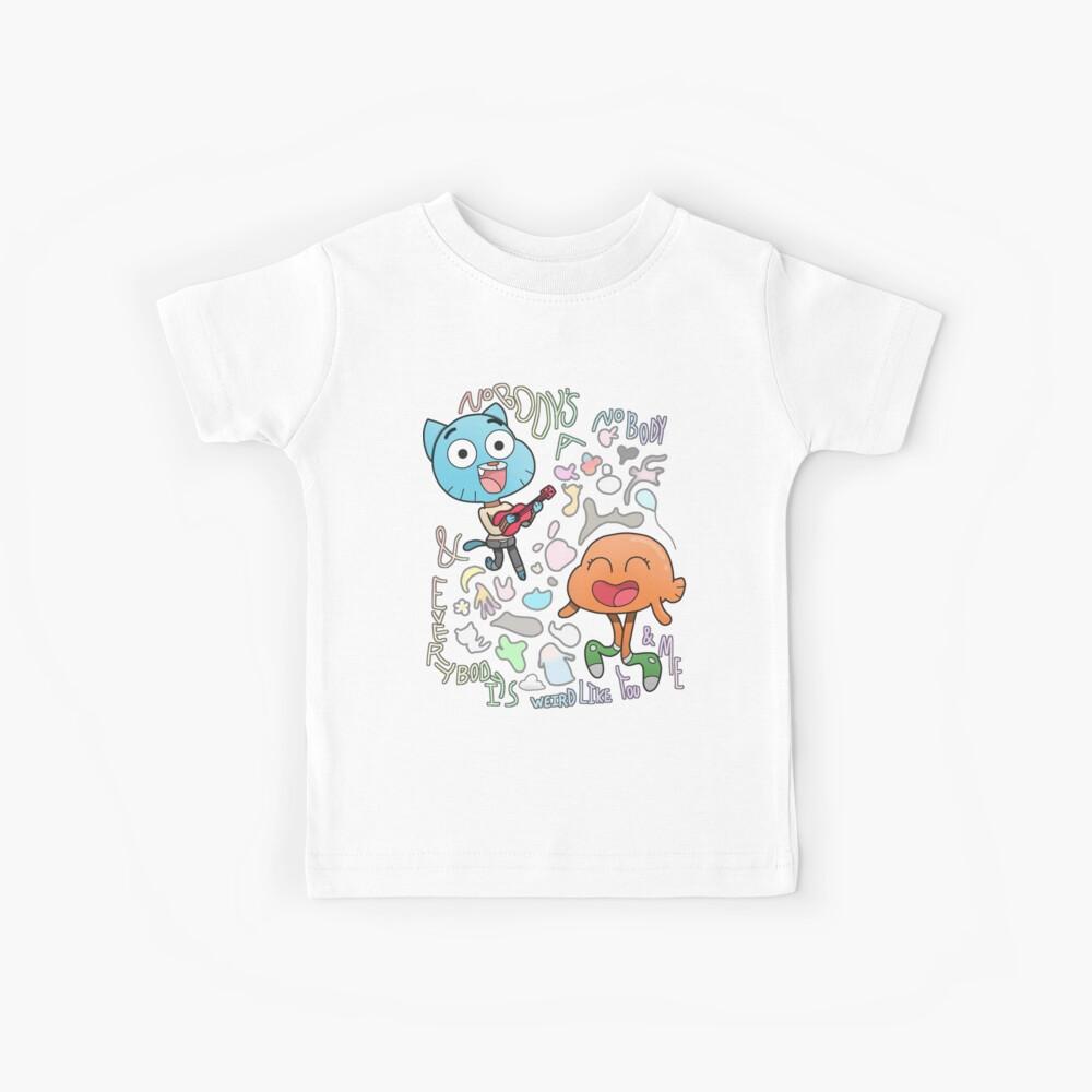 Niemand ist ein Niemand Gumball und Darwin Kinder T-Shirt