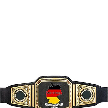 Germany: Back-to-Back World War Conference Champions Title Belt by danielhirsh