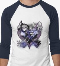 Camiseta ¾ bicolor para hombre Kingdom Hearts - Oathkeepeer & Oblivion