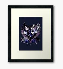 Kingdom Hearts - Oathkeepeer & Oblivion Framed Print
