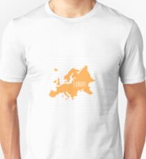 Europe Chevron Continent Series T-Shirt