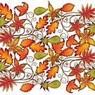 Autumn Leaves - Full by Susan Sowers