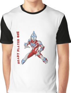 Ready Player One Ultra Man Graphic T-Shirt