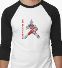 Ready Player One Ultra Man Men's Baseball ¾ T-Shirt