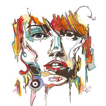 Creative Female Portrait by SamsShirts
