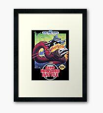 Bio-Hazard Battle (Genesis Box Art) Framed Print