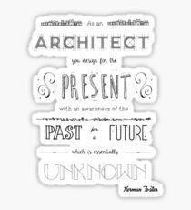 Architecture Sticker