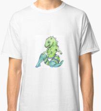 Naughty Dino-girl Classic T-Shirt