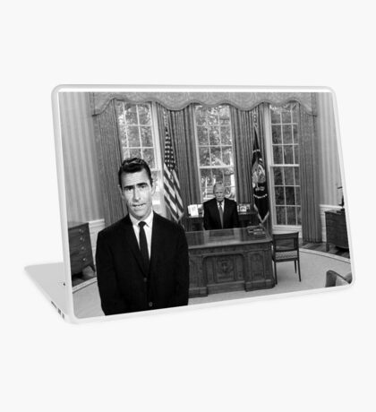 Donald Trump Twilight Zone Laptop Skin