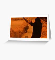 Texas Chainsaw Massacre - Flex Greeting Card