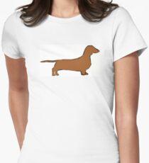 dachshund color silhouette T-Shirt