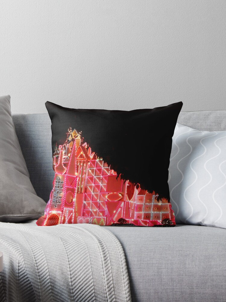 Quotsmall worldquot throw pillows by tiffsho redbubble for Small toss pillows