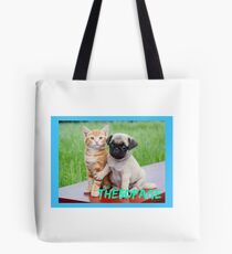 5D page Tote Bag