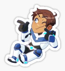 The (coolest) blue paladin Sticker