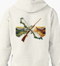 This is the Hunting Life Pullover Hoodie