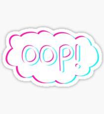 Oop Sticker