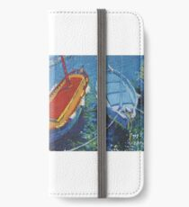 Provence harbour iPhone Wallet