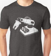 Eighties Robot Arm - Line Art Version T-Shirt