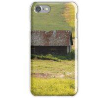Grassy farmland iPhone Case/Skin