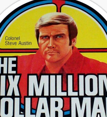 The Six Million Dollar Man Sticker