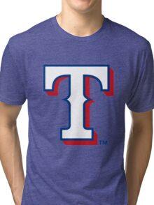 Rangers T - White Tri-blend T-Shirt