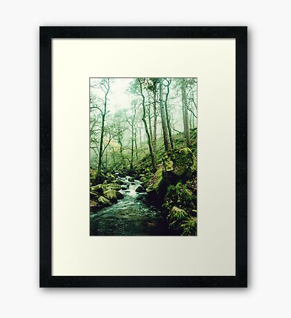 The Secrets of a Flowing Creative Mind Framed Print