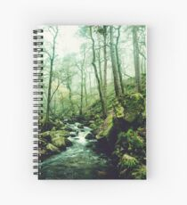 The Secrets of a Flowing Creative Mind Spiral Notebook