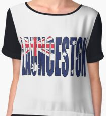 Launceston Women's Chiffon Top