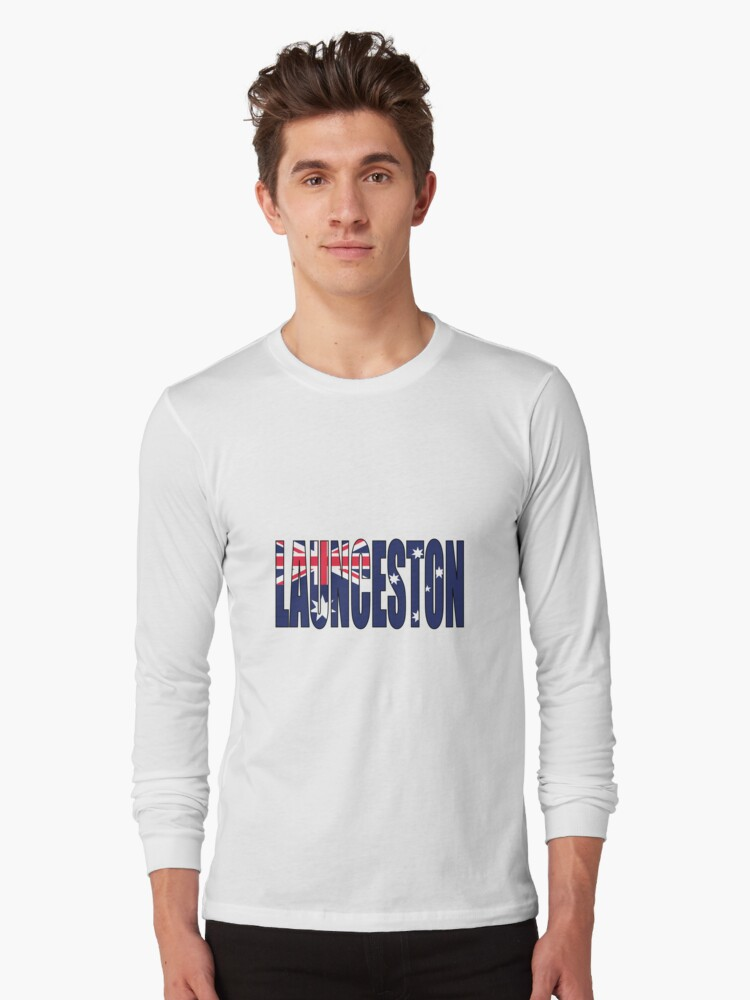 Launceston Long Sleeve T-Shirt Front