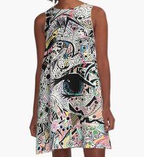 Art eye dreaming A-Line Dress