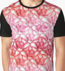 Cherry Blossom crochet Graphic T-Shirt