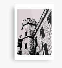 Tower of London Pen and Ink Metal Print