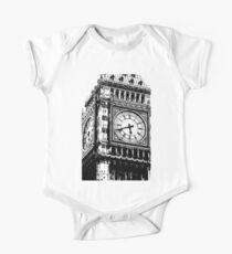 Big Ben Face - Palace of Westminster, London  One Piece - Short Sleeve